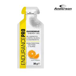 OVER DRIVE ENERGY GEL 18X30G ORANGE