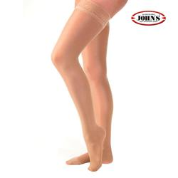 ELASTIC STOCKINGS AG 70 DEN w.SILICONE TOP BAND JOHN'S®
